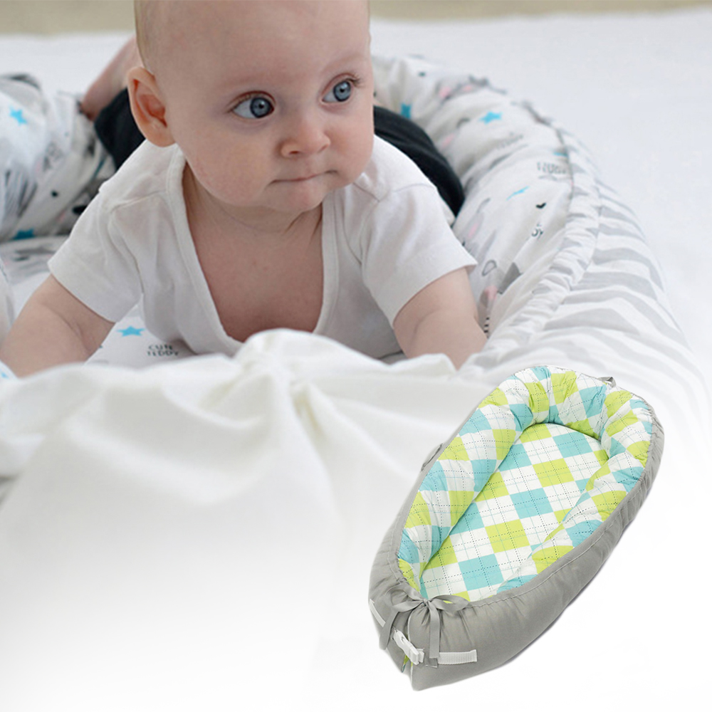 Bionic Baby Bed Soft Cotton Baby Crib Portable Crib Children's Bed Cradle Cribs Baby Nest Sleeping Nursery Carry Cot Bassinet цены