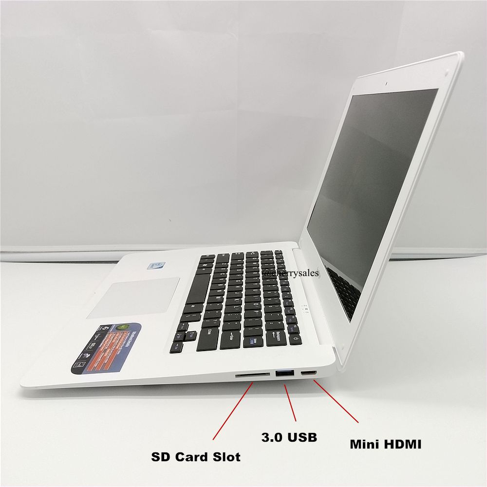 New 14 inch win7/win8.1 Laptop computer PC In-tel Pentium 2.0GHZ Quad Core Fast boot,4GB RAM 750GB HDD Slim Ultrabook