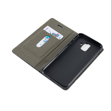 Business Leather Phone Case For Samsung Galaxy A6