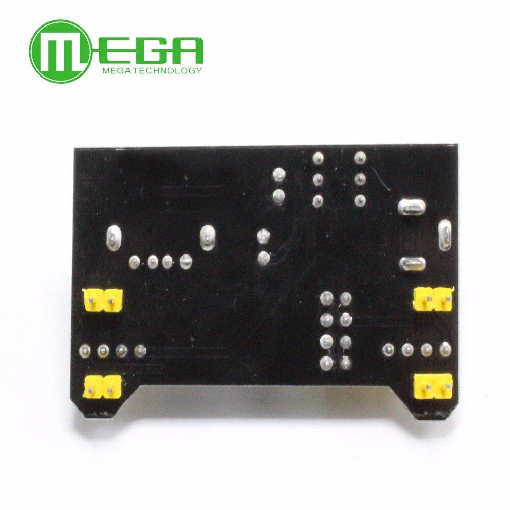 20pcs Breadboard Power Supply Module 3.3V 5V MB102 Solderless Bread Board
