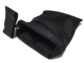 Armiyo Tactical Rifle Bullet Catcher Gun Cartridge Mesh Trap Ammo Shell Recycling Wrap Around Zipper Bag 2