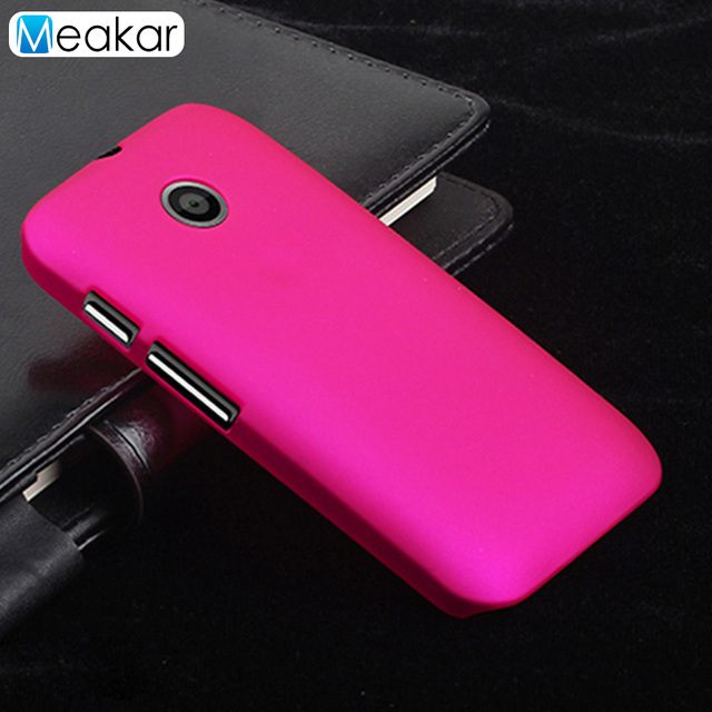huge discount 7e801 0c9f1 US $1.99  Grind arenaceous Hard Plastic shell 4.3for Moto E Case For  Motorola Moto E XT1021 XT1022 Cell Phone Back Cover Case-in Half-wrapped  Case ...