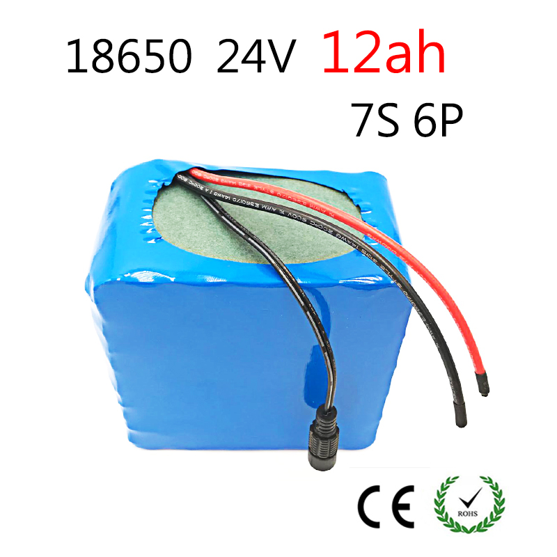 Laudation 24V Electric bicycle Lithium Ion Battery 12ah 29.4V 12000mAh 15A BMS 250W 350W 18650 Battery Pack Wheelchair Motor fikida 7s 24v 25 9v 29 4v 10ah 18650 lithium ion battery pack lightweight electric bicycle with 15a bms power tool motor battery