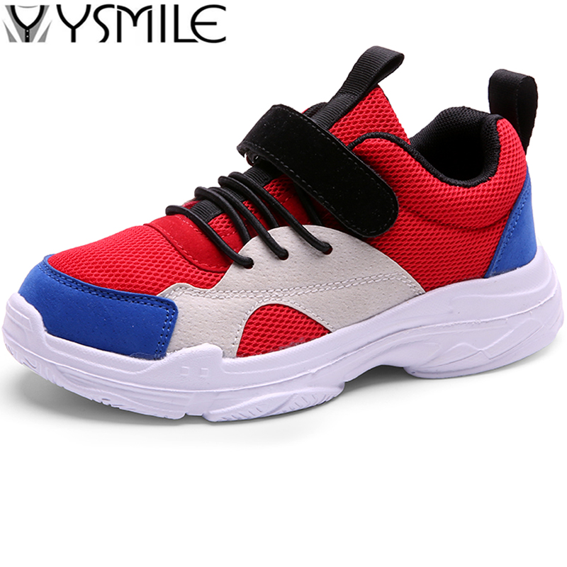 High Quality Light Thick Sole Non-slip Kids Sneakers Boys Running Shoes Girls Sport Shoes Children Walking Shoes Outdoor Unisex