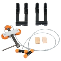 Hand Held Portable Bow Press And Quad Brackets For Compound Bow Archery