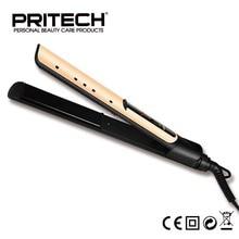 Pritech Brand Ceramic Hair Straightener Professional Steam Hair Straightener 100-240v Ceramic Flat Iron Straightening Irons
