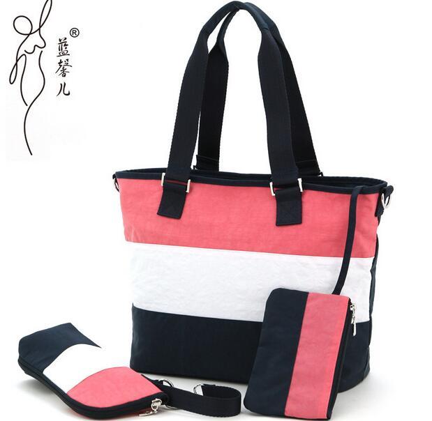 Уход за младенцем пеленки сумка для коляски большая емкость мать Посланник плеча беременных сумки для смена подгузников материал Организа...