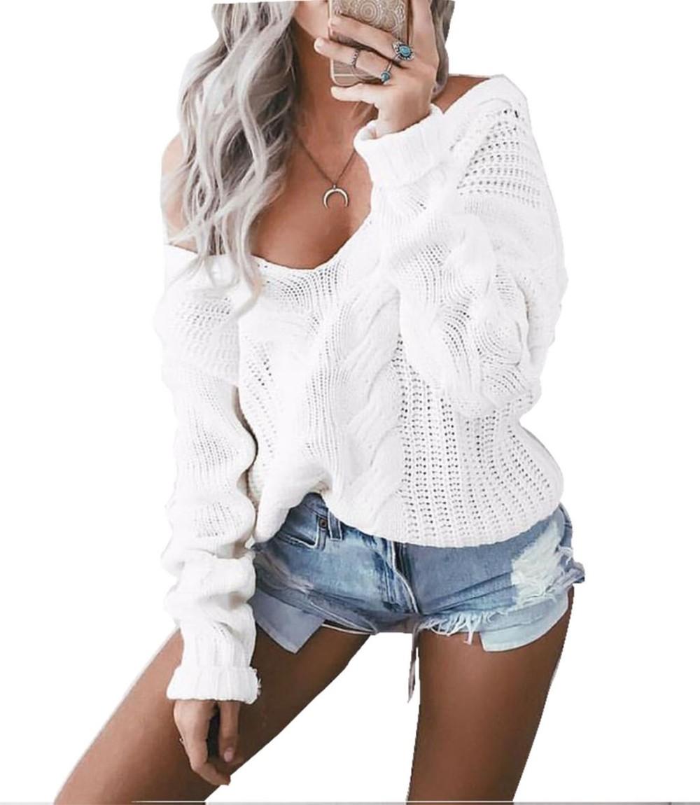 HTB1ei8PNVXXXXbbXFXXq6xXFXXX5 - Women Cable Knit  Sweaters And Pullovers JKP083