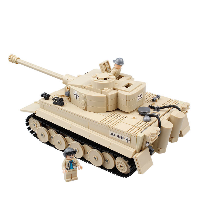 995pcs Century Military Panzer King Tiger Tank Building Blocks Model Compatible legoed Bricks weapon Enlighten Toys for children цена