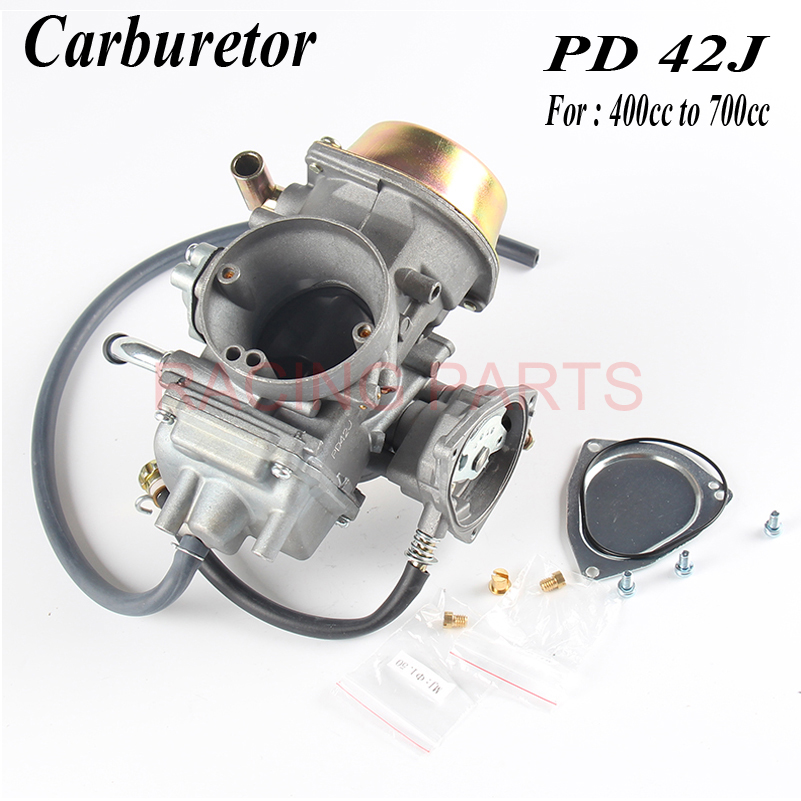 Motorcycle PD42J 42mm Vacuum Carburetor case and other 400cc to 700cc racing motor