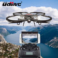 Rc Drone UDI U818A versión Actualizada dron U819A Helicóptero Teledirigido de Quadcopter 6-Axis Gyro Wifi FPV HD Cámara VS X400/X5SW