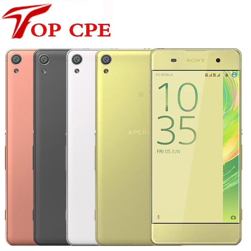 Оригинальный мобильный телефон Sony Xperia XA, разблокированный, 2 Гб ОЗУ 16 Гб ПЗУ, экран 5 дюймов, Android, Восьмиядерный, камера 13 МП, поддержка одной/двойной Sim карты, Wi Fi, 1080P|Смартфоны|   | АлиЭкспресс