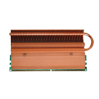 Newest Esloth Computer Components RAMs B12 Heatsink Compatible Main Desktop PC Main Chassis RAM 144(L)*69(W)*12(H) mm Cooling
