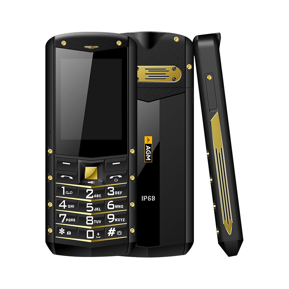 """Image 3 - (Support RU Language)AGM M2 2.4"""" Rugged Phone Dual SIM Rear 0.3MP Outdoor Phone IP68 Waterproof Shockproof Flashlight 1970mAh-in Cellphones from Cellphones & Telecommunications"""