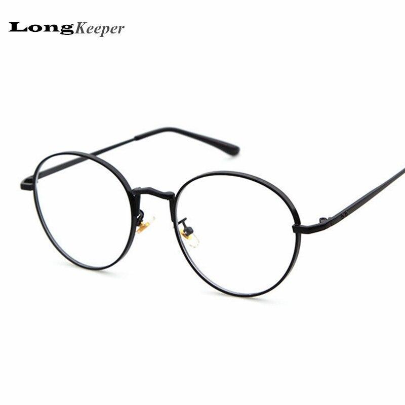 ₪2017 New Designer Women Glasses Optical Frames Metal Round Glasses ...