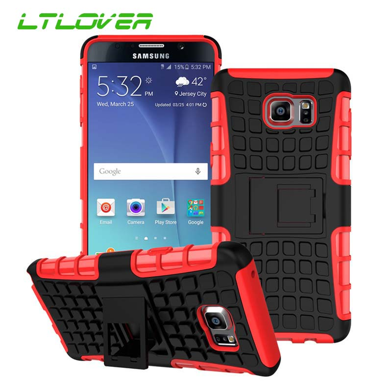 Silicone Armor 2 in 1 Combo Defender Stand Holder Case For Samsung Galaxy S3 S4 S5 S6 S7 Edge S8 Plus E5 E7 Note 3 4 5 7 8 Cases