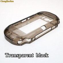 غطاء حماية من الجلد الصلب الشفاف والشفاف لأجهزة سوني بلاي ستيشن Psvita PS Vita PSV 1000 واقي كامل من الكريستال