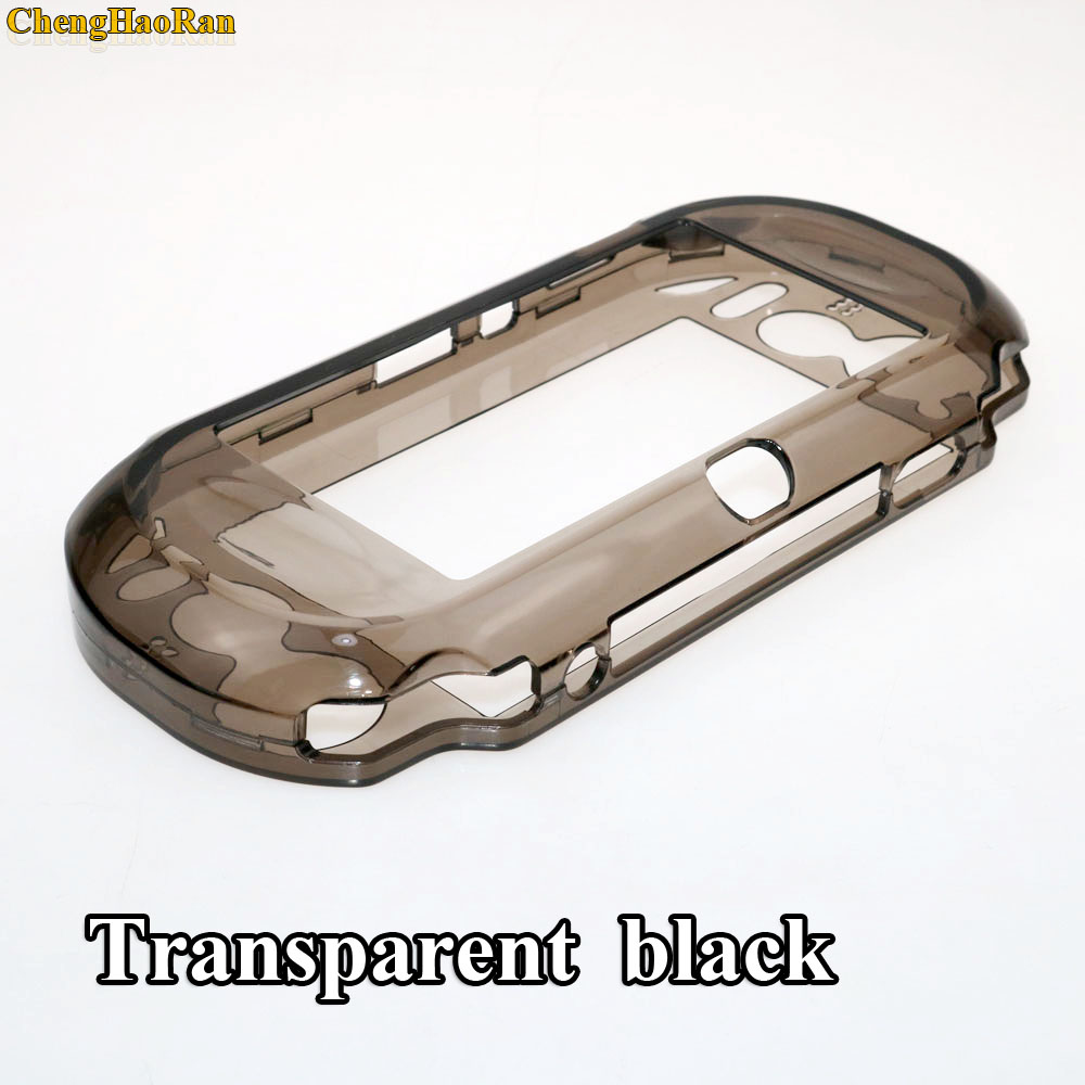 Transparent Clear Hard Case Protective Cover Shell Skin For Sony PlayStation Psvita PS Vita PSV 1000 Crystal Full Body Protector