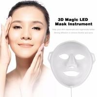 3D Magic LED Photodynamic Facial Mask Beauty Instrument Anti Acne Skin Rejuvenation Home Mask Facial