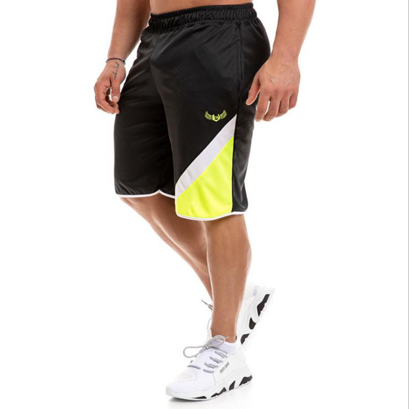 Shorts Training Quick-Drying Summer New The of Print Exercise Slow Loose Leisure