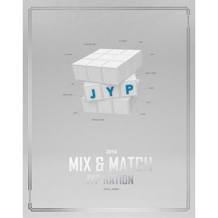 JYP NATION - JYP NATION KOREA 2016 MIX & MATCH PHOTOBOOK   Release Date 2016.12.07 bigbang 2012 bigbang live concert alive tour in seoul release date 2013 01 10 kpop