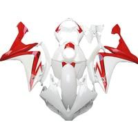injection molding hulls kit fairing kit for YAMAHA YZF R1 red white 2007 2008 YZF R1 07 08 fairings TP10