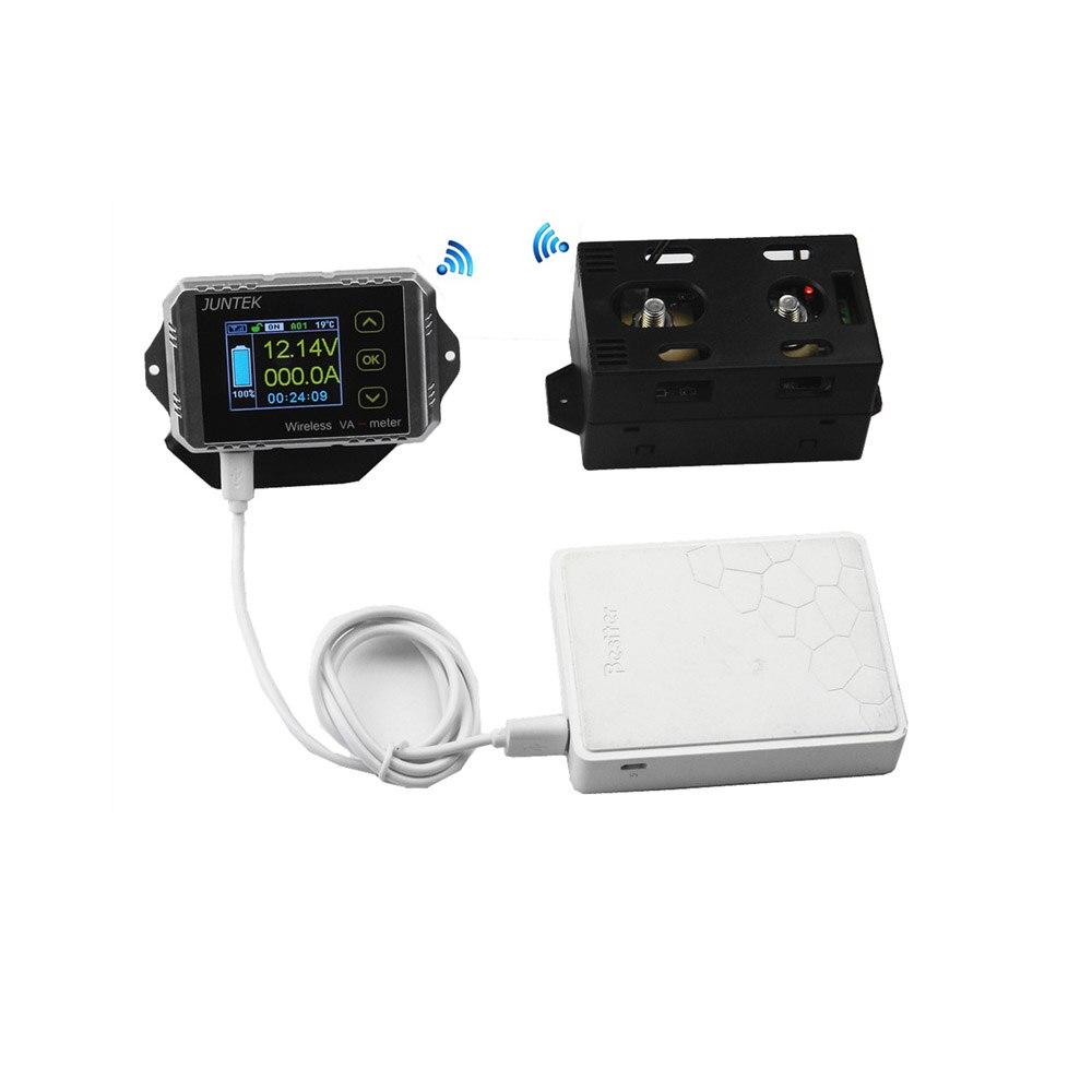 JUNTEK VAT 4300 Wireless Digital voltmeter ammeter 0 01 400V 0 1 300A Current Voltage Power