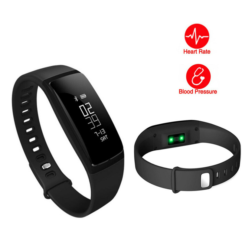 Smart Bracelet Heart Rate Watches Blood Pressure Smart Bracelet Pedometer Fitness Tracker Smart Band Clock For IOS Android 2019