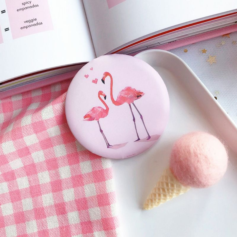 Beauty & Health Independent Card Captor Sakura Cute Cartoon Cardcaptor Sakura Mirror Mini Round Animation Magic Makeup Mirror Travel Pink Makeup Mirror Makeup Mirrors