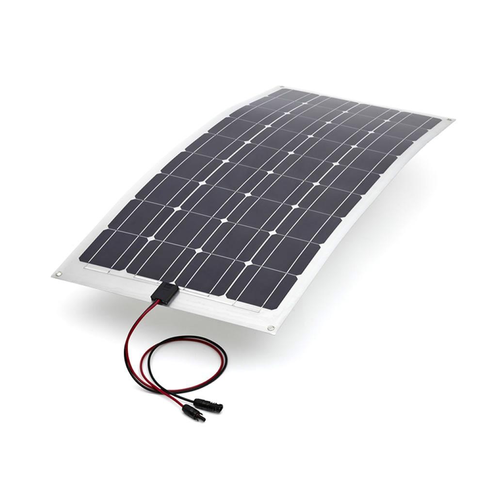 Semi Flexible mono Solar Panel max-power 30W