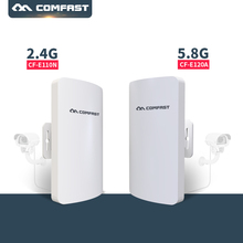2PC 2.4G, 5G Long Range CPE WIFI Router Wireless Outdoor Router WIFI Repeater 3KM Extender Access Point AP Bridge WIFI IP camera
