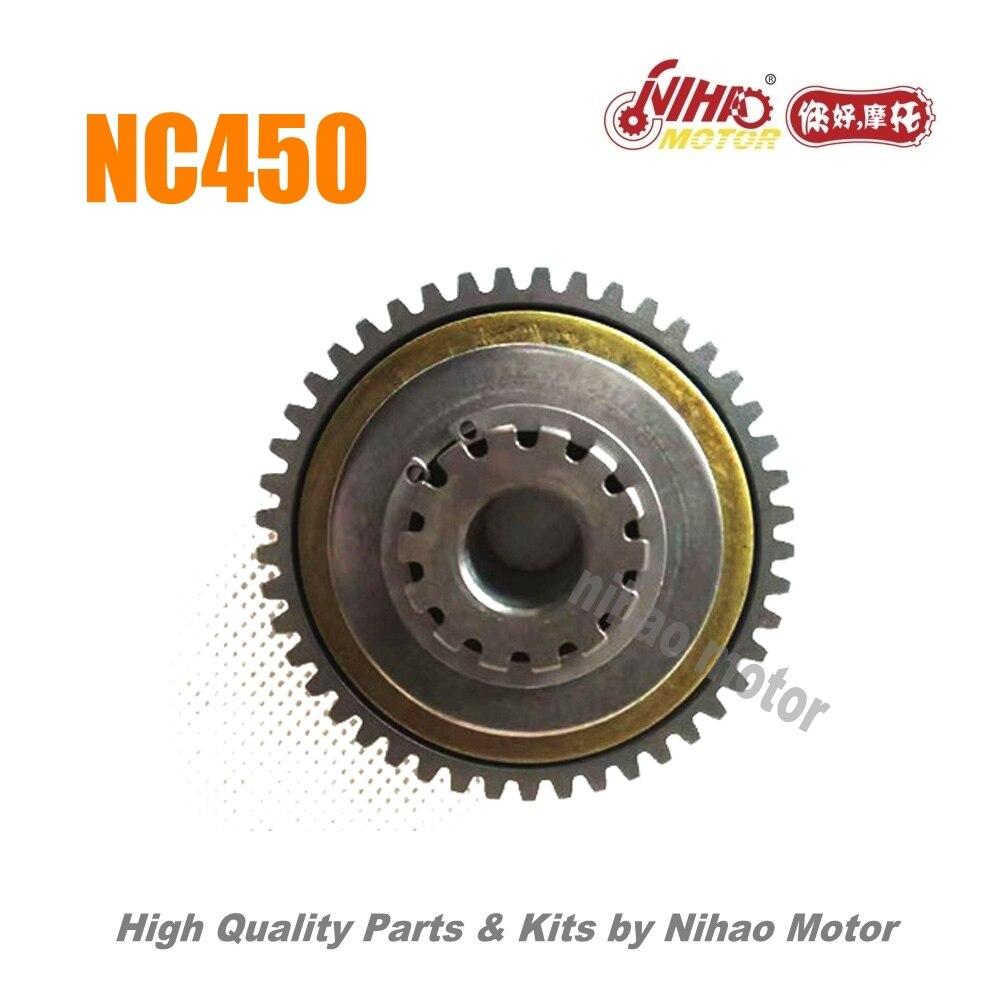 78 NC450 pièces double engrenage réducteur ZONGSHEN moteur NC RX4 ZS194MQ (moteur Nihao) KAYO Motoland esb VENTO Asiawing Xmoto