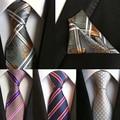 100% silk ties gravata 8 cm men ties designers fashion 2016 necktie handkerchief sets tie and pocket square set