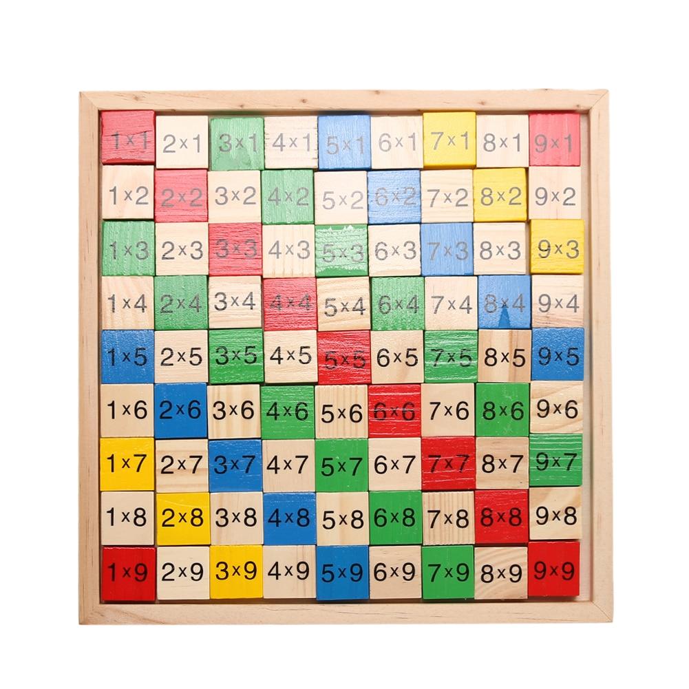 Kinder Holz Mathematik Dominosteine Block Spielzeug Double Side Mathematische Kontonummer Bord Lernen Math Game Lehrmittel