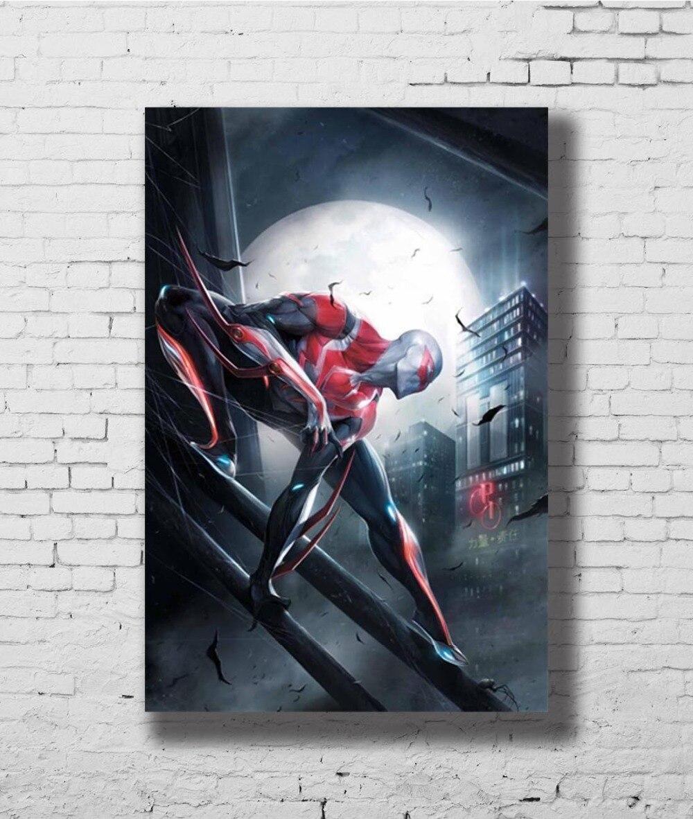 Spiderman Far From Home Movie Art Silk Poster 12x18 24x36
