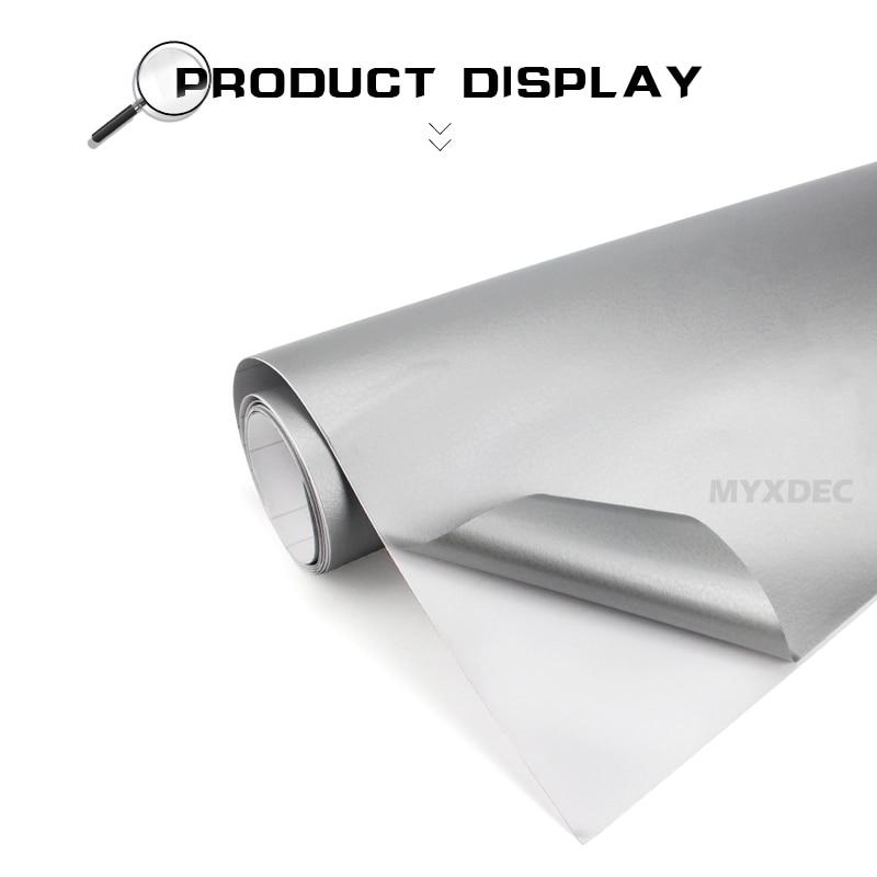 152 * 30cm Imitation Läder Mönster PVC Adhesiv Vinyl Film - Bil interiör tillbehör - Foto 3