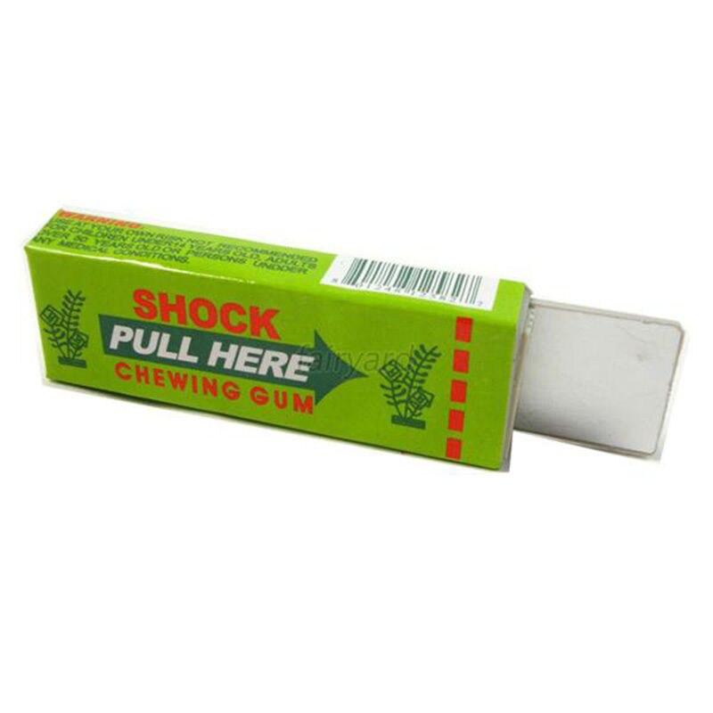 1pcs Electric Shocking Hand Chewing Gum Shocker Prank Trick Toy Joke Funny Novelty Toys Anti-stress Shock Gaget Gaps Toys 3
