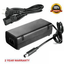 Buy AC Adapter Charger Power Supply Cord for Xbox 360E Brick Console New Linear Power Supply directly from merchant!