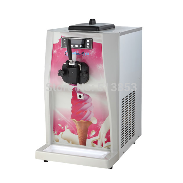Single flavor Soft Serve Ice Cream Machine low price of Ice Cream Making Machine 16-20L/h автоакустика alpine spg 17c2