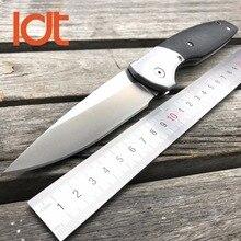 LDT Roller 110 Folding Blade Knives 9Cr18Mov Blade G10 Steel Handle Tactical Wild Boar Knives Hunting Pocket 95 Tactical Tools