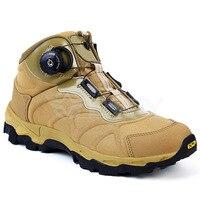 Homens Inverno Ankle Boots Moda Preto Rendas Até botas de Combate Do Deserto Tático Botas Militares Mens sapatos de Trabalho Planas Casuais Sapatos Exército
