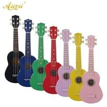 Aiersi Sinomusik бренд цвет Lindenwood 21 дюймов ukelele сопрано начинающих цвет Гавайские гитары укулеле
