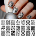 BP-L004 Kaleidoscope Designs Nail Art Stamp Template Image Plate BORN PRETTY  #17922 Stamping Plates for Nails