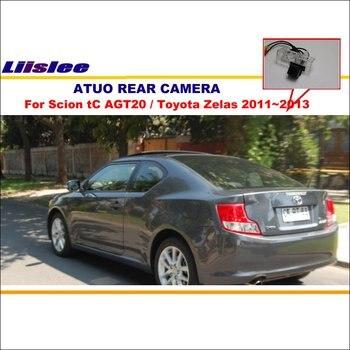 Liislee для Scion tC AGT20/Toyota Zelas 2011 ~ 2013 камера заднего вида/резервная парковочная камера/NTST/номерной знак света OEM