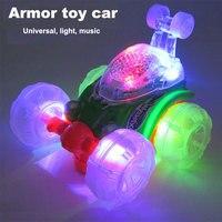 Electric Multi Direction Music Led Luminous Car Model Toys For Children Light UP Hot Wheels Speed