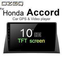 OZGQ Android 7.1 Car Player For Honda Accord 2008-2012 HD Screen Auto GPS Navigation Bluetooth Radio TV Audio Video Music Stereo