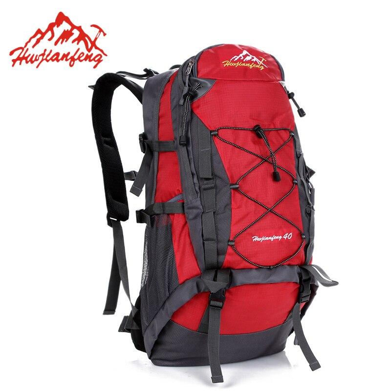 Prix pour 40L Étanche En Plein Air Alpinisme Sac À Dos Hommes Femmes Voyage Sport Randonnée Trekking Camping Sac À Dos Sac À Dos HAB065