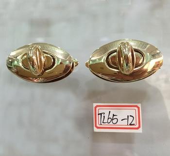 4 cm Gold Purse lock twist purse turn lock clutch lock
