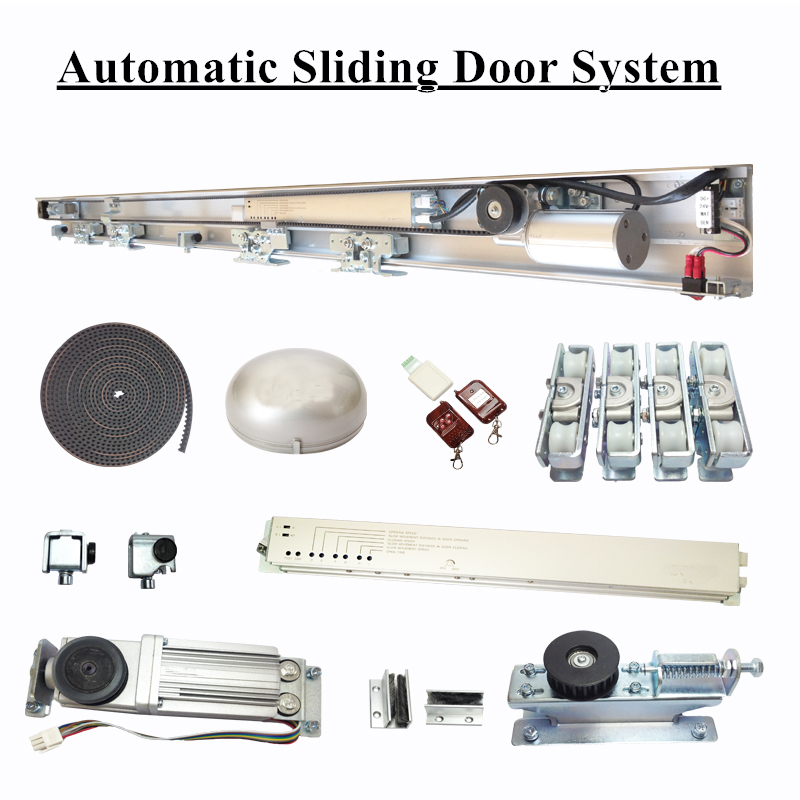 Factory Shop Retail Complete Automatic Sliding Door System Kit (Don't need track please contact us to modify shipping cost) contact us