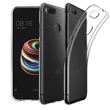 Clear TPU Phone Case for Xiaomi Redmi Note 4X 4 3 5 5a Pro Prime S2 4a 6 Mi6 mix 2s Mi 6X 5X A1 6 8 SE Note 2 3 Silicone Cover(China)